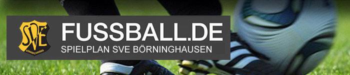 Spielplan SVE Börninghausen